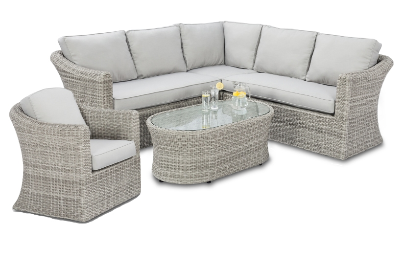 Maze Rattan Oxford Corner Garden Sofa range